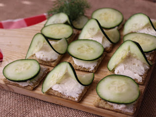 Cucumber Snacks Recipe