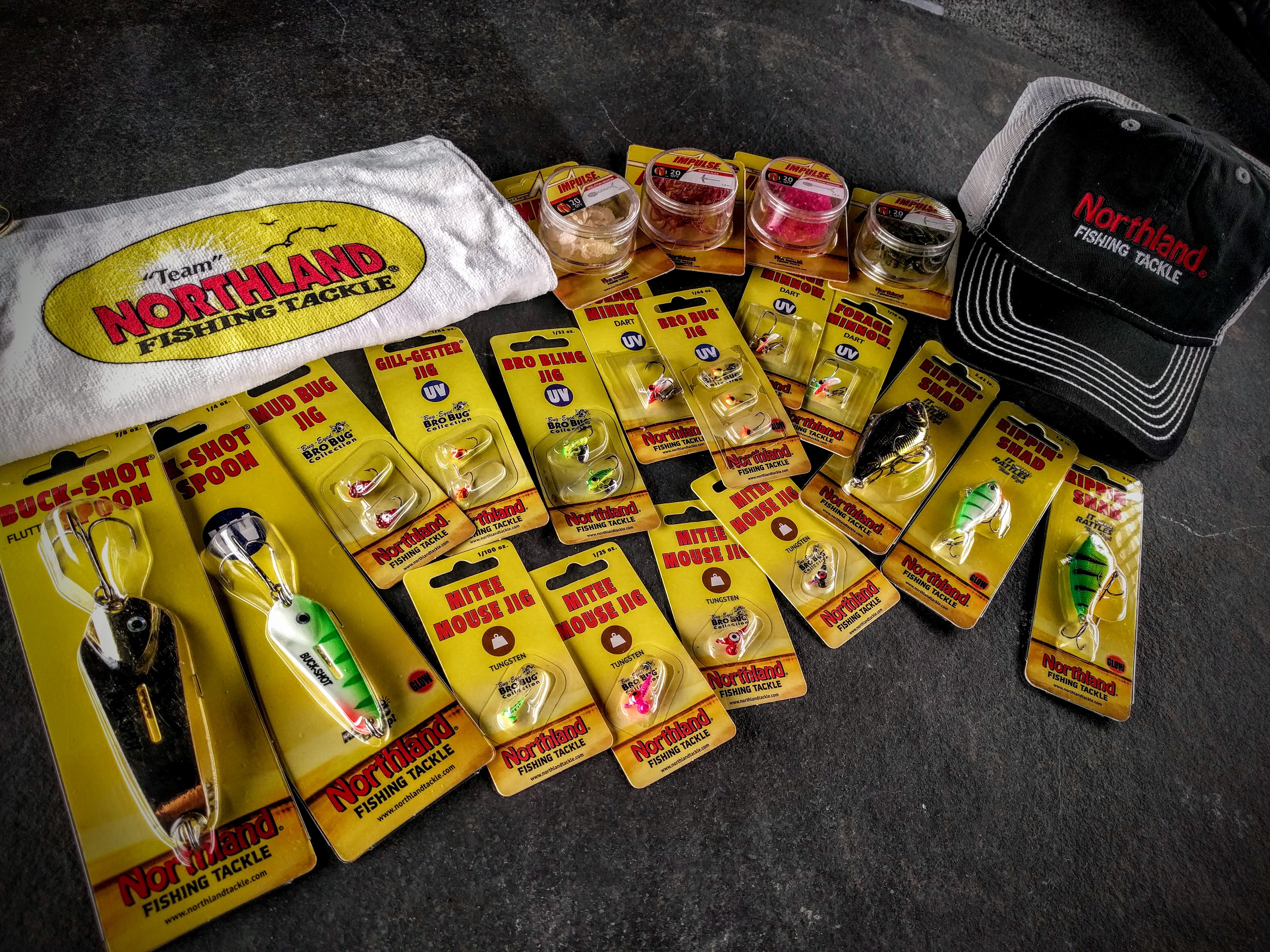 Northland tackle giveaway enter in seconds for Free fishing tackle giveaway