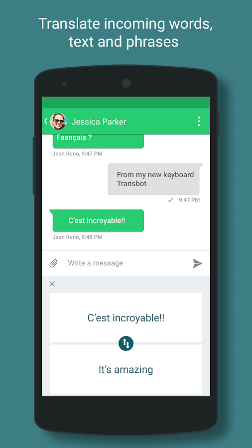 Language Translation Keyboard- screenshot