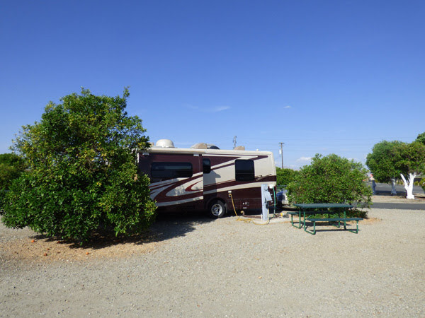 Orange Grove RV Park, Bakersfield, CA