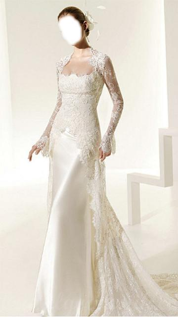 Elegant wedding dress android apps on google play for Design your own wedding dress app