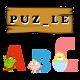 Einfaches Wort Puzzle Kid
