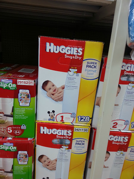 Photo: Right now Wal-Mart has rollback pricing on Huggies which plays right into my money saving strategies!