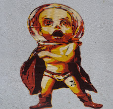 Photo: Stencil; ROBI THE DOG