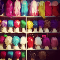 Ciuffi di colori di