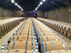 Photo: Reserva aging in La Rioja.