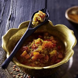 Spiced Red Lentil Soup.