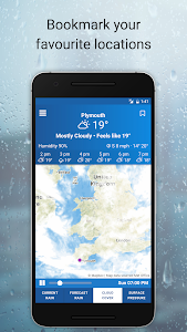 UK Weather Maps - Met Office screenshot 3