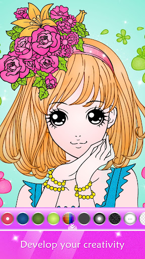 Princess Coloring Book for Kids & Girls Free Games 2.0.0 DreamHackers 1