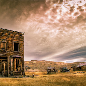 by Becca McKinnon - Buildings & Architecture Decaying & Abandoned ( mining, building, old, mammoth lakes, ghost town, bodie, western, old building, abandoned )