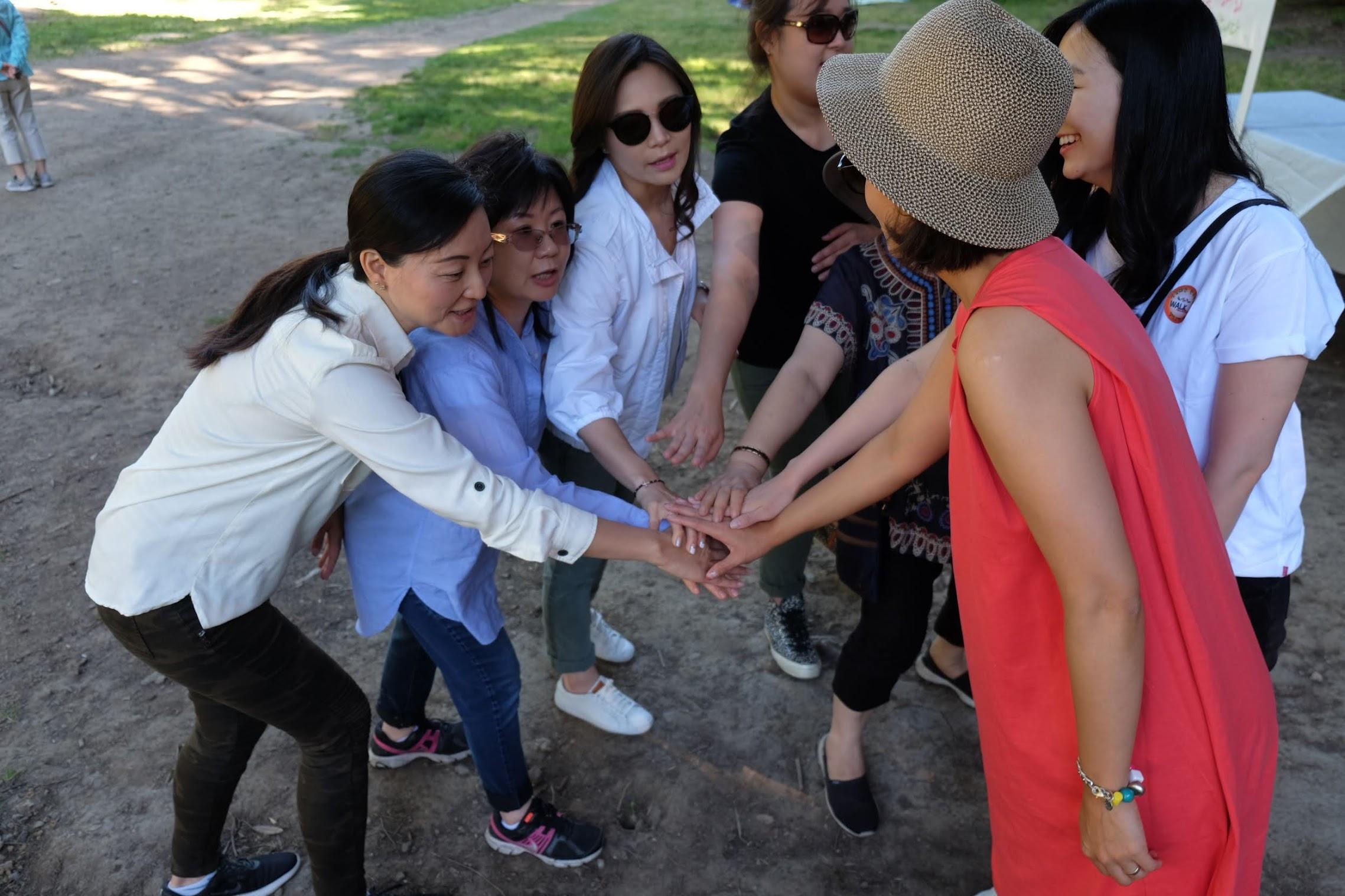 야외미사 청소년 기금마련 걷기대회행사