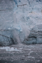 Photo: Watch the 'ice calving' was amazing! It sounded like fireworks...