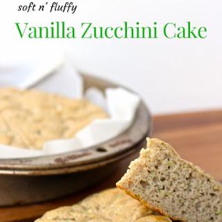 Gluten-Free Vanilla Zucchini Cake.