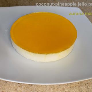 পিনাকোলাডা || কোকোনাট ও পাইনআপেল জেলো পুডিং|| Coconut-pineapple Jello Pudding ||pinacolada.