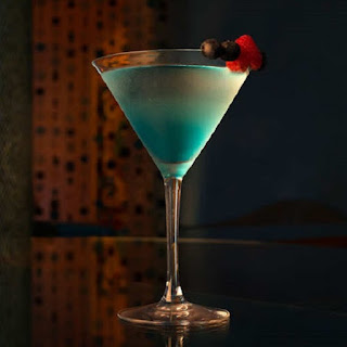 Blue Palm Cocktail
