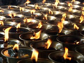 Photo: Buddhist candles