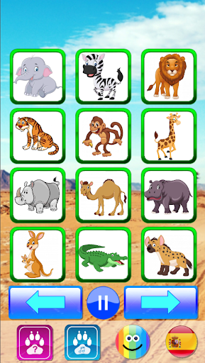 Animal sounds. Learn animals names for kids 5.0 screenshots 3