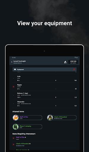 D&D Beyond Player Tools screenshot 21