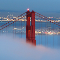 golden gate bridge wallpaper icon