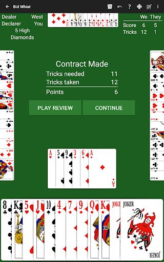 Bid Whist by NeuralPlay 3.01 screenshots 11