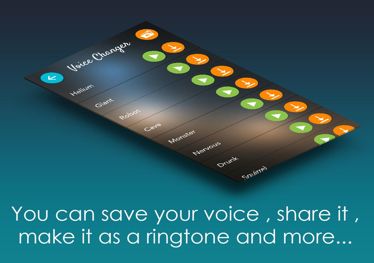Change your voice to anything- screenshot