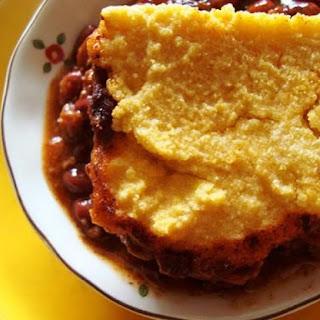 Vegetarian Chili and Cornbread Casserole Recipe