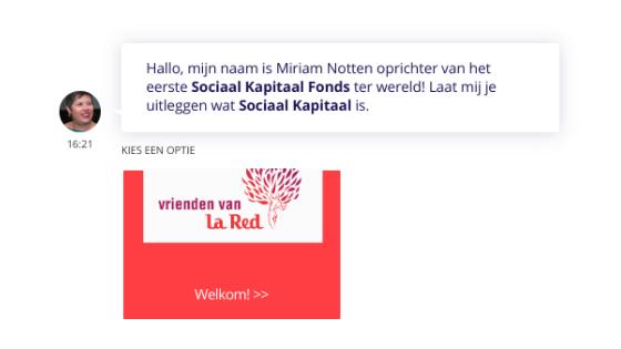 Chatbot Sociaal Kapitaal