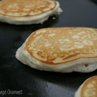 Old Fashioned Homemade Pancakes.