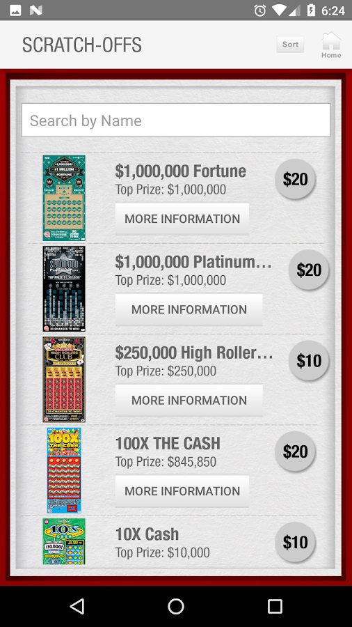 Maryland Lottery Official App- screenshot