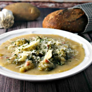 Italian Potato Broccoli Soup.