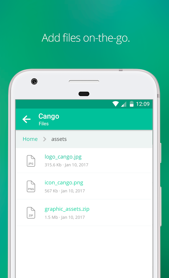 Backlog: Project Management & Collaboration App- screenshot
