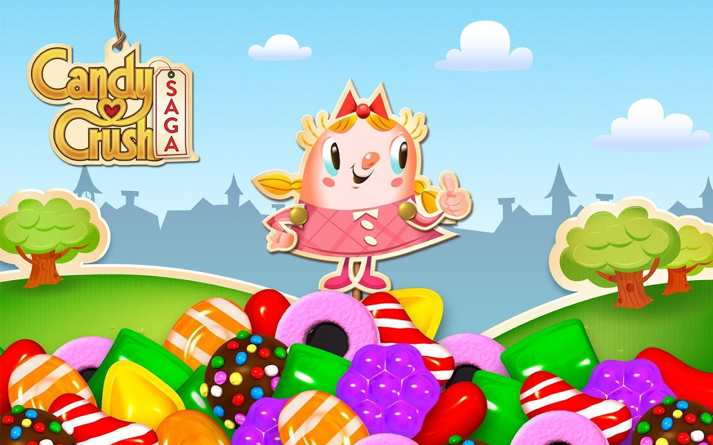Candy Crush Saga: captura de tela
