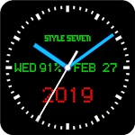 3D Advanced Analog Clock Live Wallpaper-7 1.11