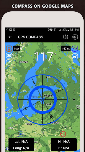 Gyro Compass App for Android Pro & GPS Speedometer screenshot 7