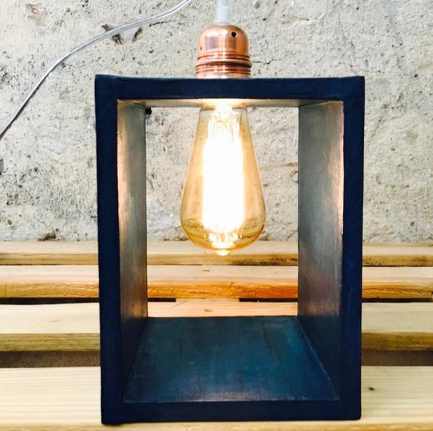 lampe béton design