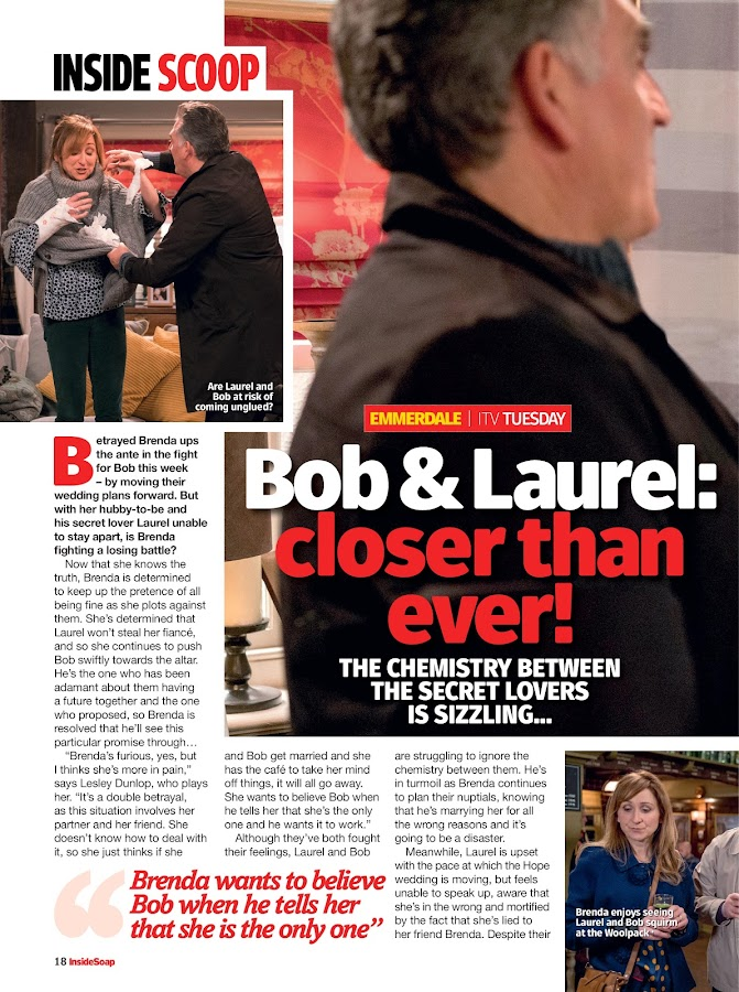 Inside Soap UK- screenshot