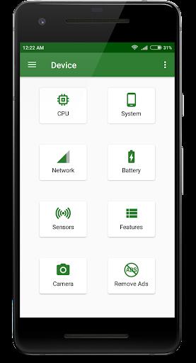 CPU X : Device & System info 2.8.6 screenshots 2