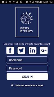 Fiesta Rewards - náhled