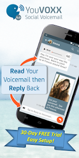 YouVOXX Social Voicemail - náhled