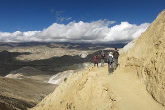 Photo: Sur le chemin du Samdzong La
