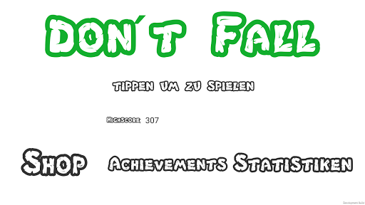 Don't Fall screenshot 3