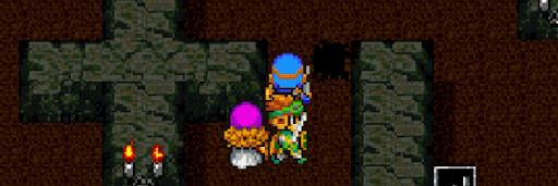 ドラクエ2_ロンダルキアの洞窟の落とし穴