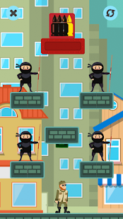 Bullet Agent - Fighting relaxing hyper casual game Screenshot