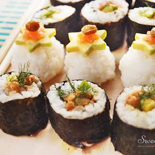 Natto Sushi.