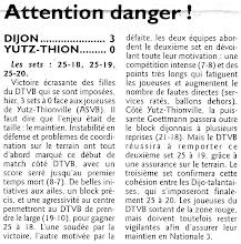 Photo: 27-02-2011 l'ASVB perd 3-0 à Dijon et descend dans le groupe des relégables