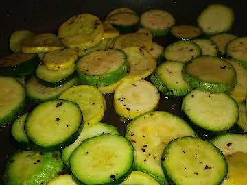 Italian Squash Stir-fry