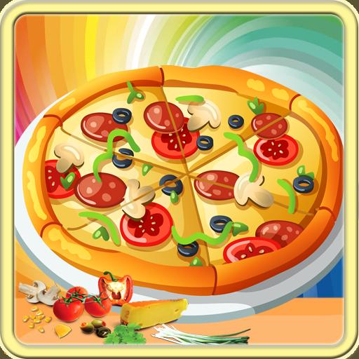 比薩餅製造商的孩子做飯遊戲 休閒 App LOGO-APP試玩