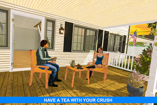 Virtual Girlfriend: Real Life love Story Sim apktram screenshots 11