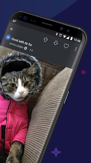 Screenshot 1 for Imgur's Android app'