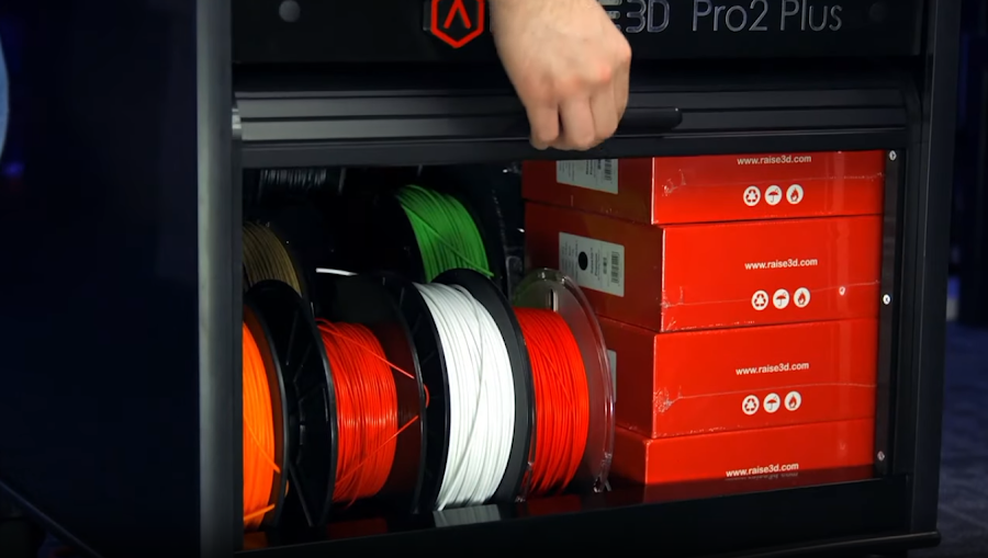 The Raise Pro2+ Cart is a great addition for material and tool management alike.